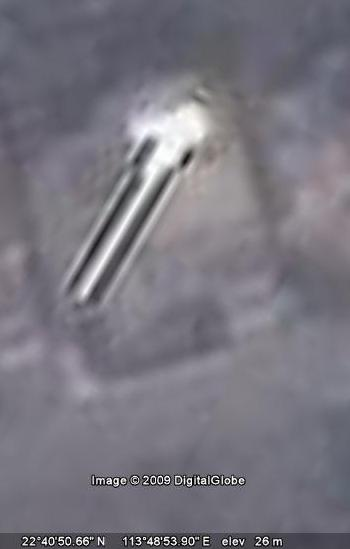 UFOchinesecitygoogleearth.92109